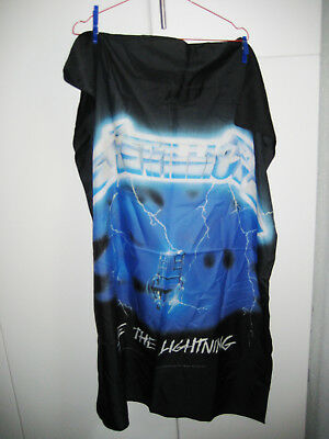 "Metallica - Fahne, Posterfahne, Flagge ""Ride the lightning"""