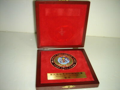RARE 2006s HONG KONG CHINA 9th World firefighters Game COMMEMORATE MEDAL