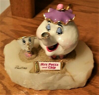 Disney Ron Lee figurine Chip and Mrs Potts