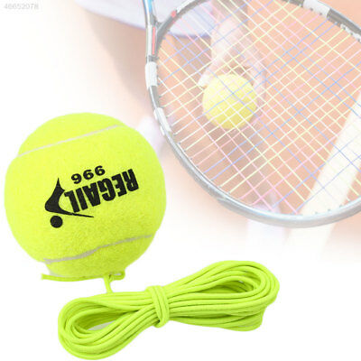 Tennis Ball With String Rope Trainer Training Practice Sports Universal
