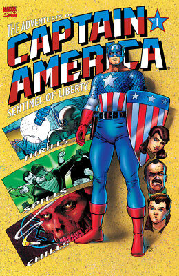 Adventures Of Captain America #1 - (1991) - Bagged And Boarded -  Free Uk P+P!