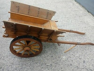 Melba ware horse Carriage all In Wood