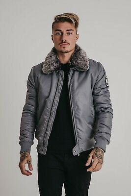 22adaacbb02d7 MENS GOOD FOR Nothing Prestwich Grey Jacket RRP £79.99 - £11.99 ...