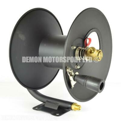 """High Pressure Washer Hose Reel (Capacity 15m of 3/8"""" or 30m of 1/4"""") Wall Mount"""