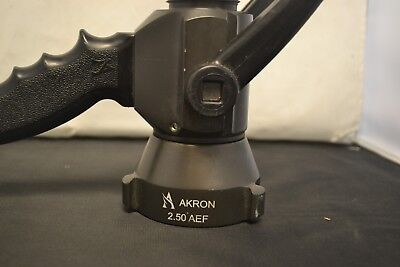 Akron 2.50 NH Smooth Bore Nozzle 1 1/8 tip