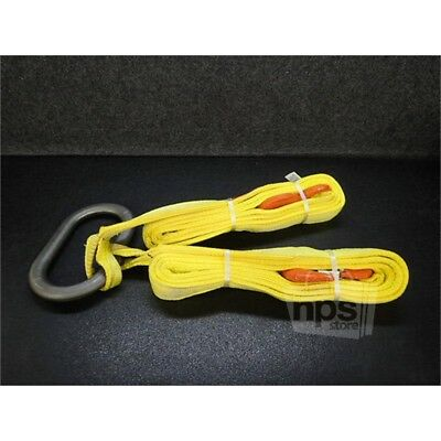 """LiftAll D05EE2-802 Two Leg Bridle - Yellow Nylon 12 ft. x 2"""" Wide"""