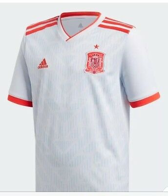 Spain Official World Cup Away Shirt 2018 Latest design. Reduced To Clear £20.00