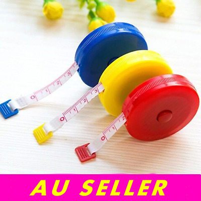 Baby Retractable Sewing Tailor Cloth Soft Measuring Ruler Tape Measure 150cm