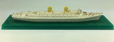 Vintage Ship Model of the SS Nieuw Amsterdam Holland America Line