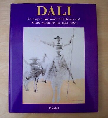DALI Catalogue Raisonne of Etchings and mixed-Media prints, 1924 - 1980