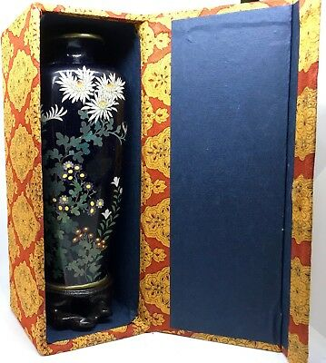 Cloisonne vase signed Japanese-Wonderful quality late 19th to early 20th century