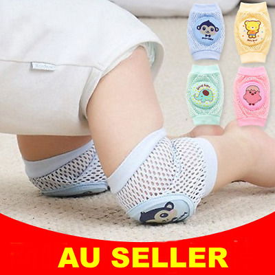 1 Pr Baby Toddler Infant Summer Net Crawling Knee Pad Safety Anti-slip Protector
