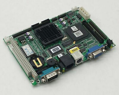 Advantech Pcm-5820 Rev.b2 19A6582001 Sbc Board Ns Geode 300Mhz Cpu 256Mb Ram