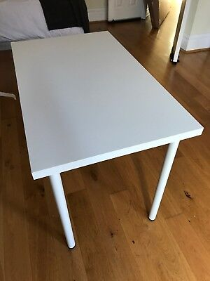 IKEA -  Adils Linmon Table / Office Desk (White) 100 X 60 cm