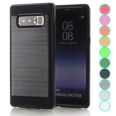 For Samsung Galaxy Note 8 9 S8 S9 Verge Hybrid Shockproof Armor TPU Case Cover