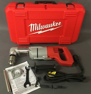 Milwaukee 7 Amp 1/2 in. Corded Heavy Right-Angle Drill Kit 3107-6 [A]