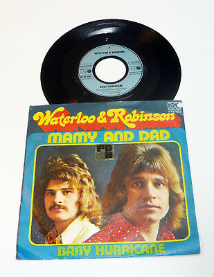 """WATERLOO & ROBINSON """"Mamy And Dad"""" 1973 NM Archiv PS 45 Metronome Vinyl 70s"""