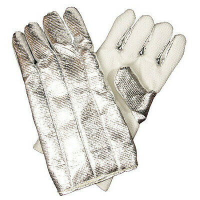 Z-FLEX 2100020 Heat Resist. Gloves,Aluminized,Z-Flex,PR