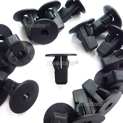 50pcs Bumper Fender Hood Panel Screw Grommet Clips Fastener for Toyota Sequoia