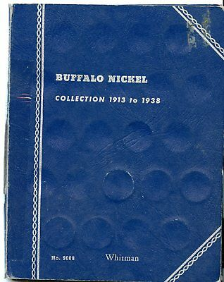 1913-1938 PART DATE BUFFALO NICKELS ~  MISSING 32 COINS  ~ WITH 1926 S   *hucky*
