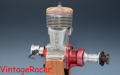 1945 McCOY.60 RED HEAD MODEL AIRPLANE ENGINE TETHER CAR TETHER BOAT; SPEED PLANE
