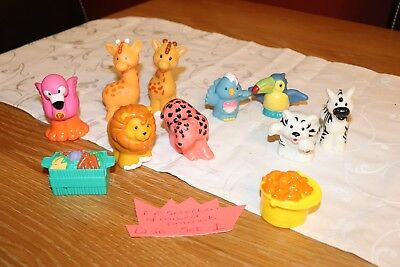 Fisher Price Little People Selection Of Mixed Animals (Set 1)