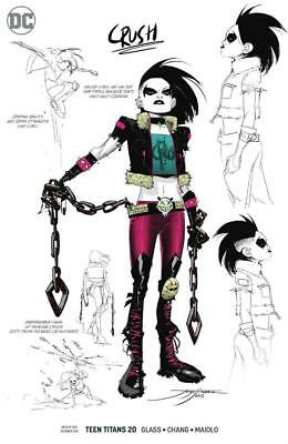TEEN TITANS #20 1/25 VARIANT CRUSH CONCEPT ART VARIANT 1st APPEARANCE CRUSH