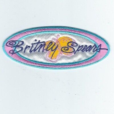 Britney Spears Embroidered Patch !