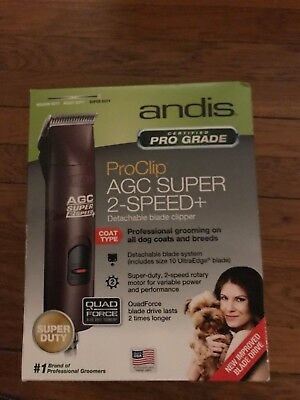 Andis Super  2-Speed Agc2 22360 Detachable Blade Clipper New