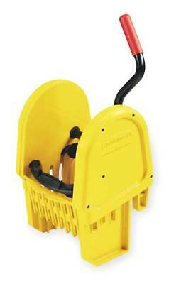 WaveBrake Mop Wringer,Down Press,32 oz.,Yellow