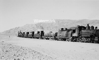 1948 SP 8 R&LHS Keeler-Owenyo California Southern Pacific Railroad NEGATIVE