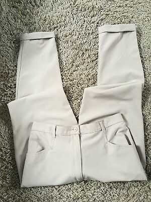 Vintage 1980's WORKERS FOR FREEDOM Turn Up Trousers Size Vintage 16 (12)