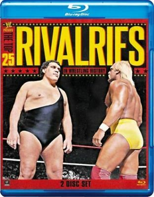 WWE The Top 25 Rivalries In wrestling History Blu-ray 2-Disc Set Gift idea UK