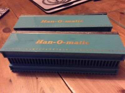 Two Hanimex Han-O-Matic 36 Slide Magazine Trays