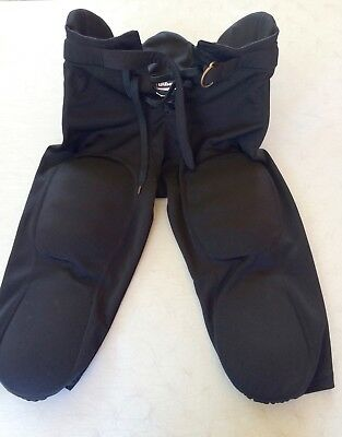 Wilson 7 Pads Padded Black Football Pants, Youth XL
