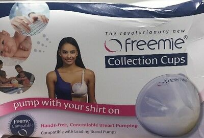 Freemie Collection Cups The Only Hands Free and Concealable Breast Pump System