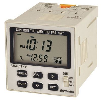 LCD Digital Timer,Weekly/Yearly Timer AUTONICS LE365S-41