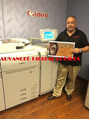 Canon Imagepress  C700  With Fiery Server G100, Staple Finisher