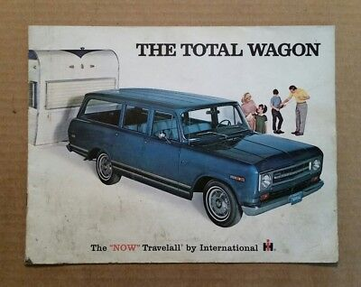 """The Total Wagon"" International Harvester Travelall,Sales Brochure,1969"
