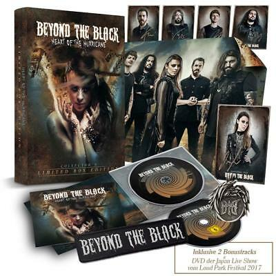 Beyond The Black - Heart Of The Hurricane (Limited Fanbox)   Cd+Dvd New!