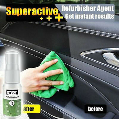 NEW Refurbisher Agent Leather Seats Plastic Maintenance Clean Detergent For Car