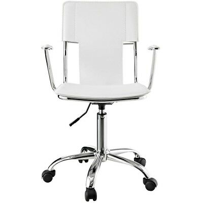 Studio White Office Chair, Desk Chair, FREE SHIPPING!