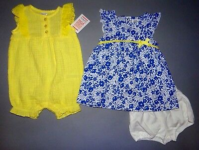 Baby girl clothes, 3 months, Just One You by Carter's Jumpsuit, dress w/pants