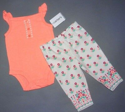 Baby girl clothes, 18 months, Carter's 2 piece set