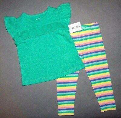 Baby girl clothes, 24 months, Carter's eyelet smock top/bright pants/ 1/2 OFF!!