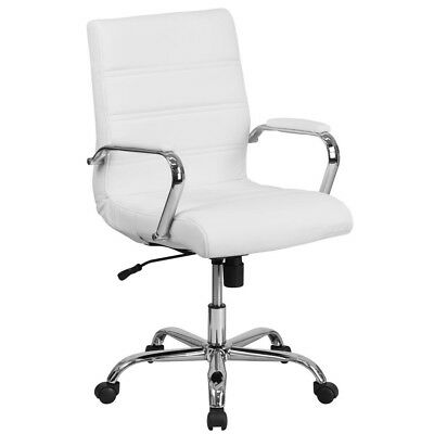 White Office/Desk Chair, desk chair, FREE SHIPPING!
