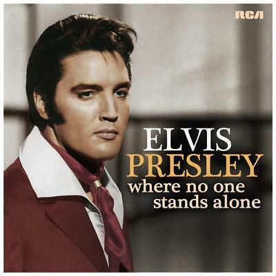 ELVIS PRESLEY WHERE NO ONE STANDS ALONE CD NEW Stock arriving on Wednesday