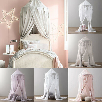 Princess Baby Mosquito Net Bed Kids Canopy Bedcover Curtain Bedding Dome Tent