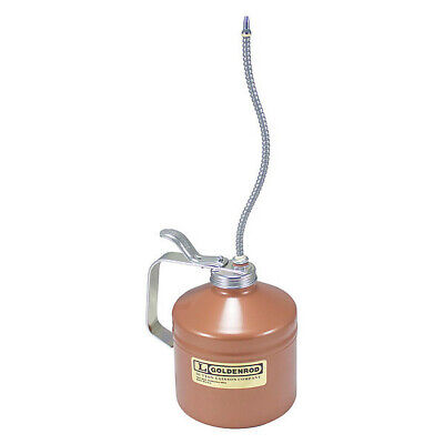Oiler,32 oz.,Steel,8 in. Spout GOLDENROD 737