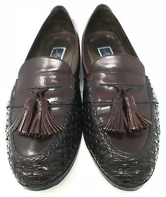 Cole Haan, Bragano, Men's Leather Merlot Loafers (10.5M) *New Soles*